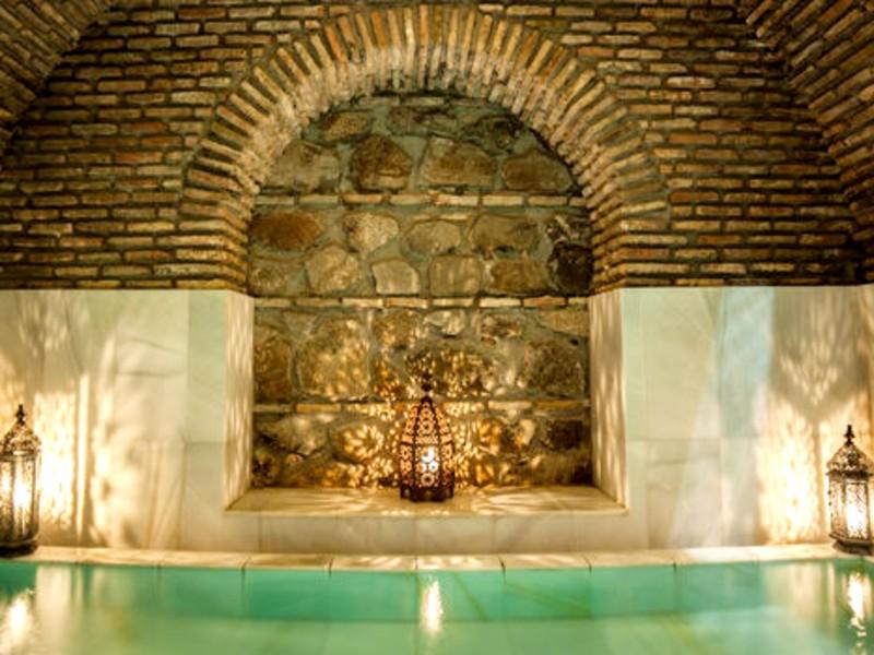 Baños árabes para dos personas
